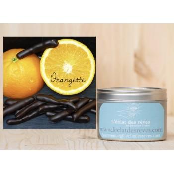 Bougie L'Eclat des Rêves, senteur orangette (orange chocolat)