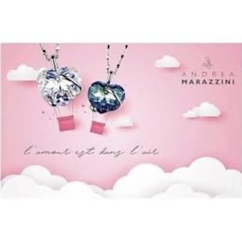 collier en forme de coeur cristal Swarovski